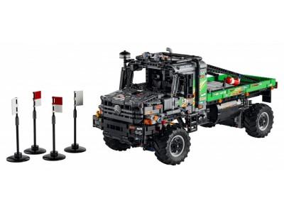 LEGO 42129 - Полноприводный грузовик-внедорожник Mercedes-Benz Zetros
