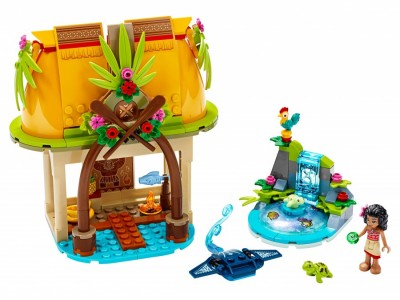 LEGO 43183 - Дом Моаны на затерянном острове