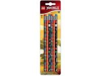 Набор карандашей 6 шт LEGO Ninjago