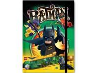 Книга для записей  с резинкой LEGO Batman Movie