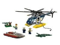 Погоня на полицейском вертолете