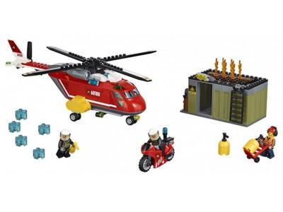 LEGO 60108 - Пожарная команда быстрого реагирования