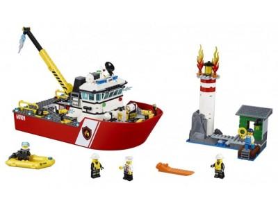 LEGO 60109 - Пожарный катер