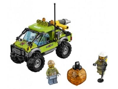 LEGO 60121 - Внедорожник исследователей вулканов