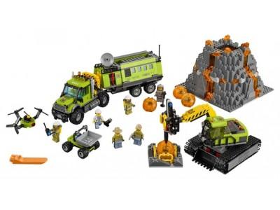 LEGO 60124 - База исследователей вулканов