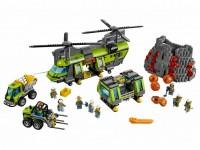 Грузовой вертолет исследователей вулканов