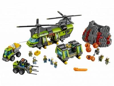 LEGO 60125 - Грузовой вертолет исследователей вулканов