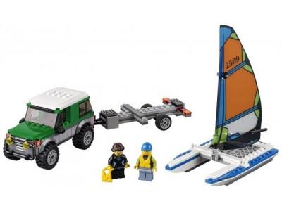LEGO 60149 - Внедорожник с прицепом для катамарана