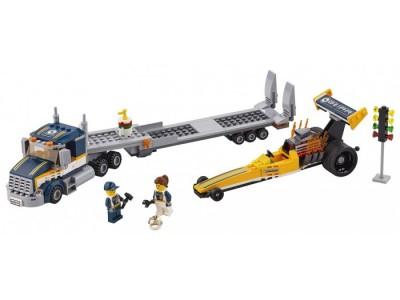 LEGO 60151 - Грузовик для перевозки драгстера