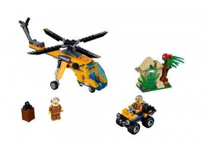 LEGO 60158 - Джунгли: Грузовой вертолет