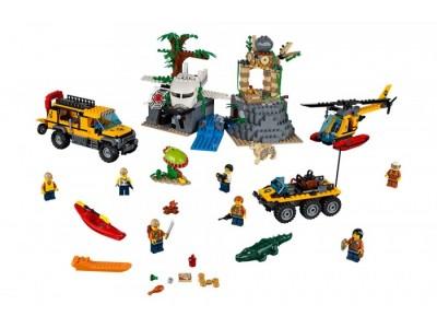 LEGO 60161 - Джунгли: Исследовательская база