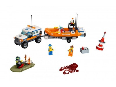 LEGO 60165 - Внедорожник 4Х4 береговой охраны