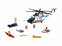 Мощный спасательный вертолет