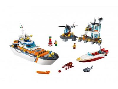 LEGO 60167 - Штаб - квартира береговой охраны