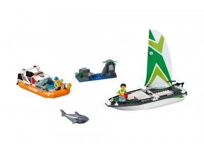 LEGO 60168 - Операция по спасению парусной лодки