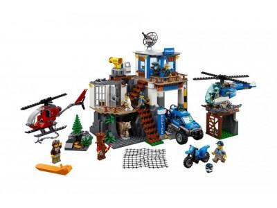 LEGO 60174 - Полицейский участок в горах