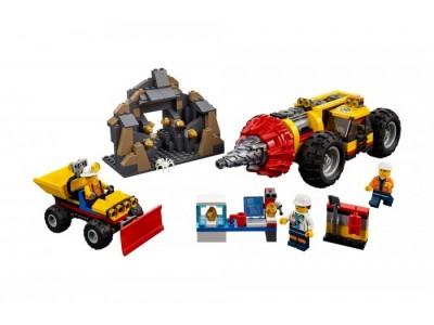LEGO 60186 - Тяжелый бур для горных работ
