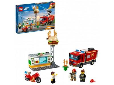 LEGO 60214 - Пожар в бургер кафе