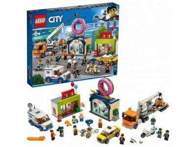 LEGO 60233 - Открытие магазина по продаже пончиков