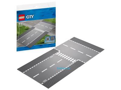 LEGO 60236 - Прямой и Т-образный перекрёсток