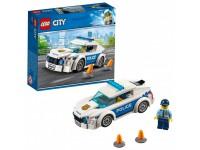 Автомобиль полицейского патруля
