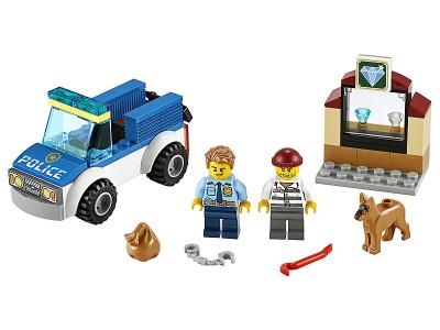 LEGO 60241 - Полицейский отряд с собакой