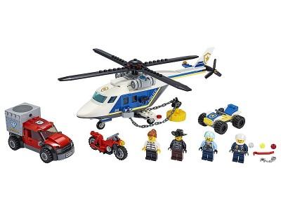 LEGO 60243 - Погоня на полицейском вертолёте
