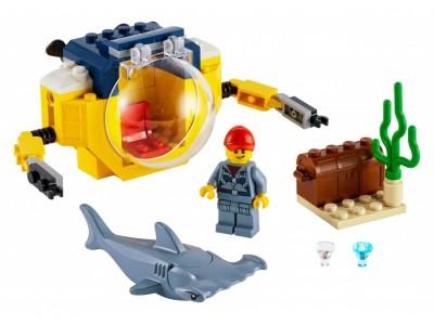 LEGO 60263 - Океан. Мини-подлодка