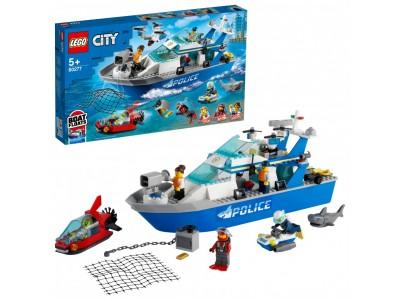 LEGO 60277 - Катер полицейского патруля