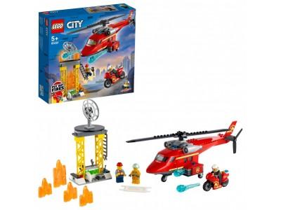LEGO 60281 - Спасательный пожарный вертолёт