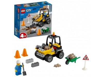 LEGO 60284 - Автомобиль для дорожных работ