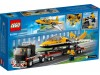 LEGO 60289 - Транспортировка самолёта на авиашоу