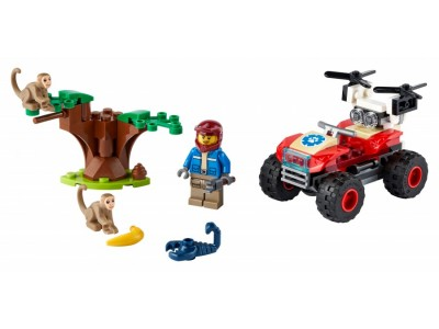 LEGO 60300 - Спасательный вездеход для зверей