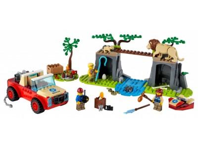 LEGO 60301 - Спасательный внедорожник для зверей