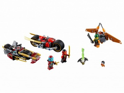LEGO 70600 - Погоня на мотоциклах