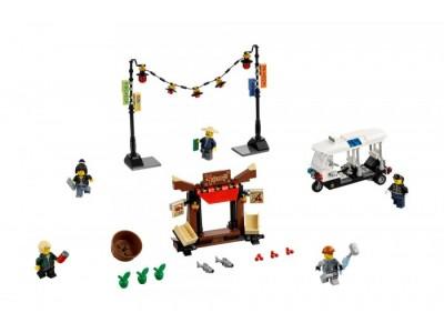 LEGO 70607 - Ограбление киоска в Ниндзяго Сити