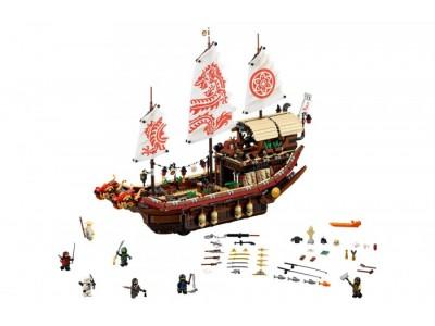 LEGO 70618 - Летающий корабль Мастера Ву