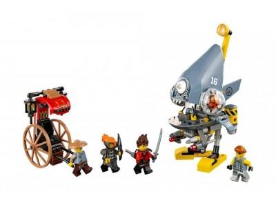 LEGO 70629 - Нападение пираньи