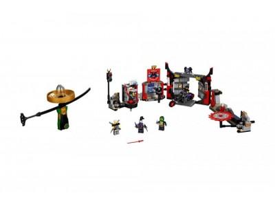 LEGO 70640 - Штаб-квартира Сынов Гармадона