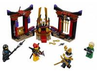 Решающий бой в тронном зале