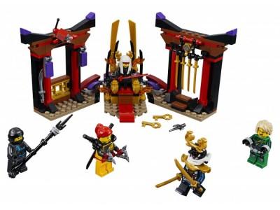 LEGO 70651 - Решающий бой в тронном зале