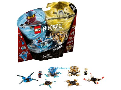 LEGO 70663 - Ния и Ву: мастера Кружитцу