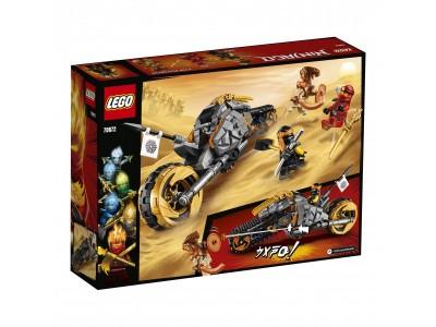 LEGO 70672 - Раллийный мотоцикл Коула