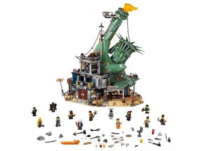 LEGO 70840 - Добро пожаловать в Апокалипс-град!