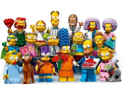 LEGO 71009 - Минифигурки LEGO Симпсоны 2 выпуск