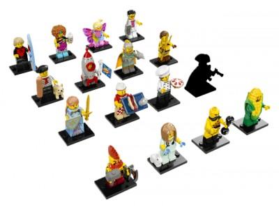 LEGO 71018 - Минифигурки ЛЕГО серия 17