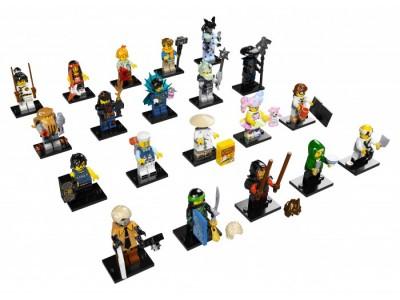 LEGO 71019 - Минифигурки НИНДЗЯГО