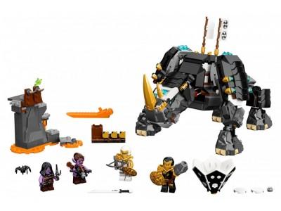 LEGO 71719 - Бронированный носорог Зейна