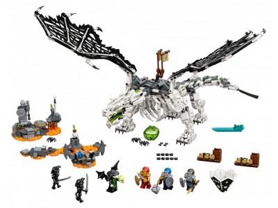 LEGO 71721 - Дракон чародея - скелета