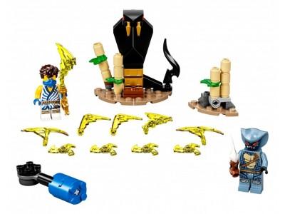 LEGO 71732 - Легендарные битвы: Джей против воина-серпентина